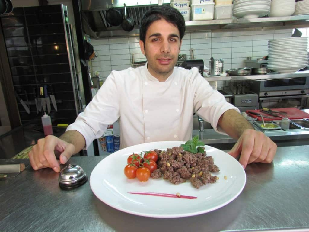 סאמר מילאד, מסעדת אולגה (צילום רואי פרסול)