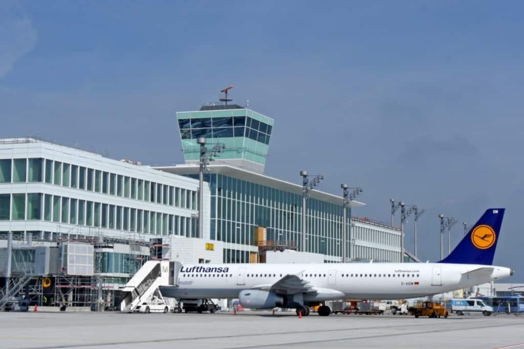 """שדה התעופה החדש במינכן (צילום יח""""צ חו""""ל)"""