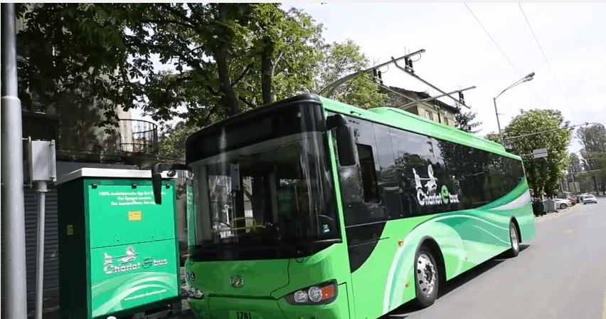 """אוטובוס חשמלי (צילום יח""""צ חו""""ל)"""