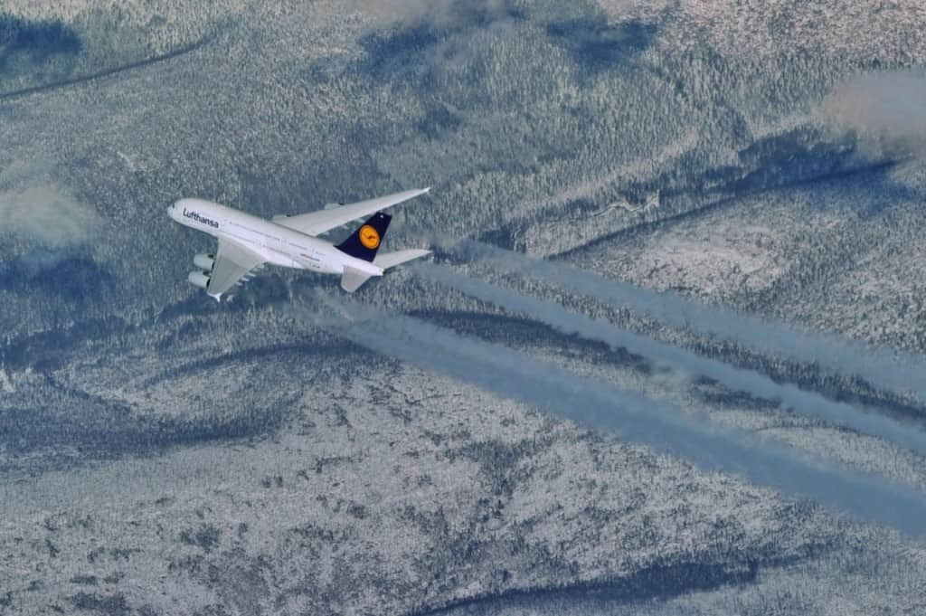 """A380 של לופטהנזה (צילום יח""""צ חו""""ל)"""