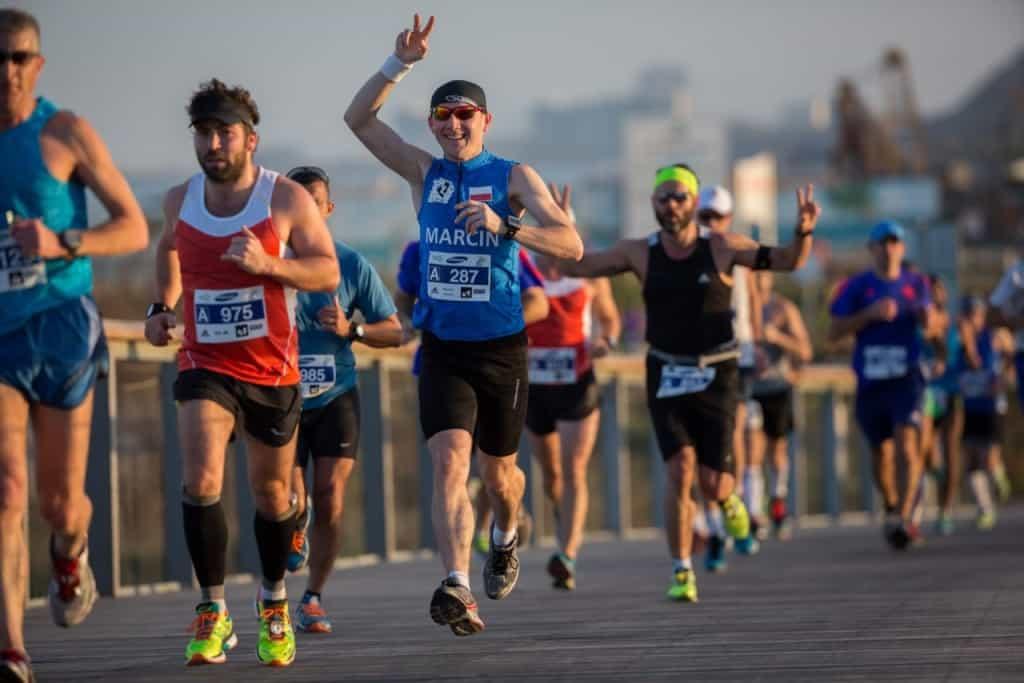 מרתון סמסונג תל אביב (צילום רונן טופלברג)