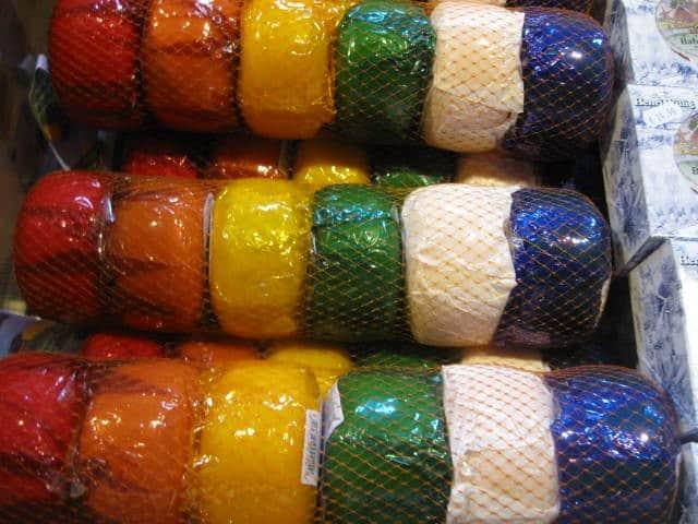 מגוון גבינות הולנדיות (צילום דני בר)