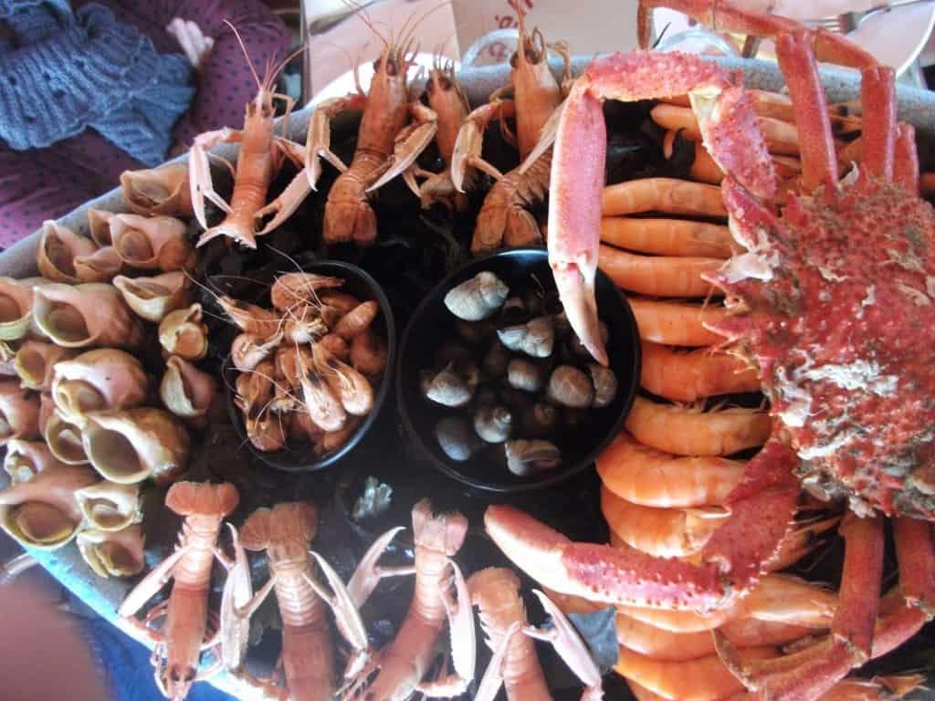 שלל פירות ים (צילום דני בר)