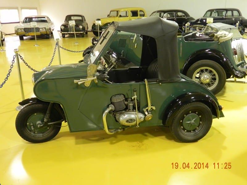 מכונית במוזיאון המכוניות, עומר (צילום צביקה וינטר)