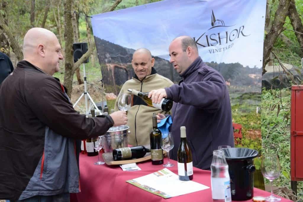טעימת יינות כישור (צילום אורי מלצר)