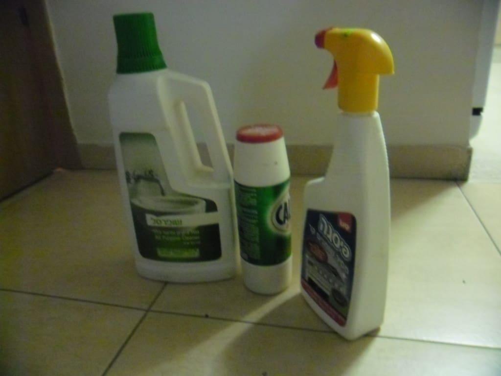 חומרי ניקוי ביתיים (צילום דני בר)