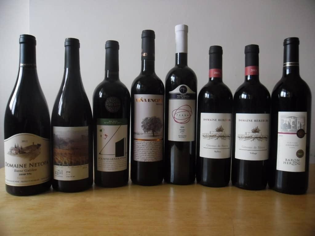 יינות אדומים עד 79 שקלים (צילום דני בר)
