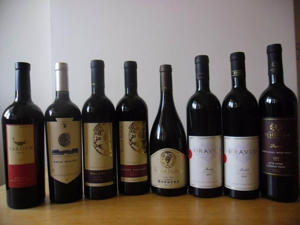 יינות מעל 130 שקלים (צילום דני בר)