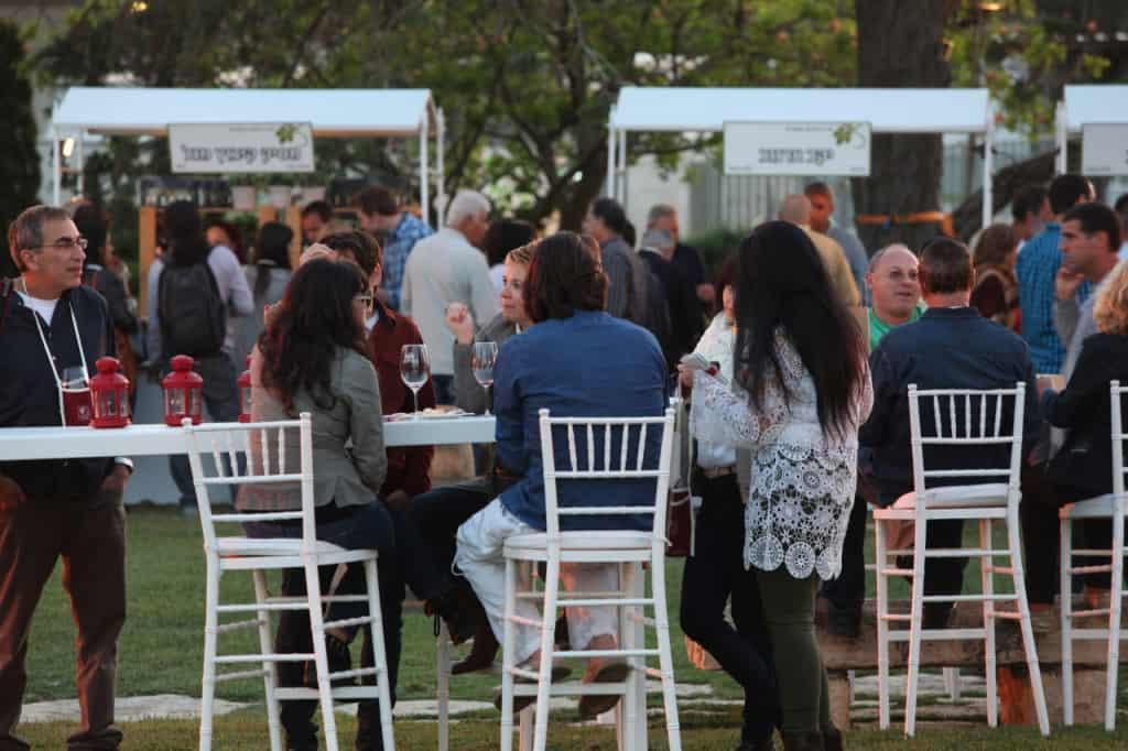 פסטיבל היין הראשון בזכרון (צילום דויד סילברמן)