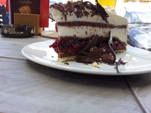 עוגת היער השחור בשוורצוולד (צילום דני בר)
