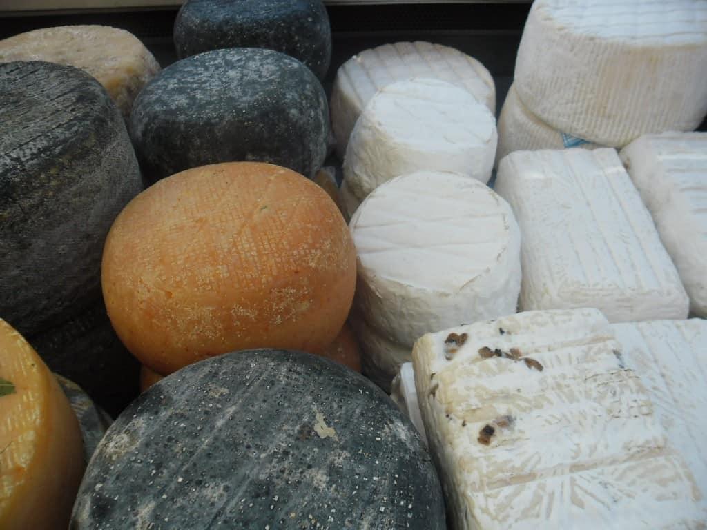 מבחר גבינות (צילום דני בר)