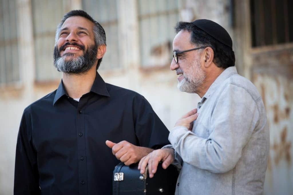 אהוד ואביתר בנאי (צילום רויטל טופיול)
