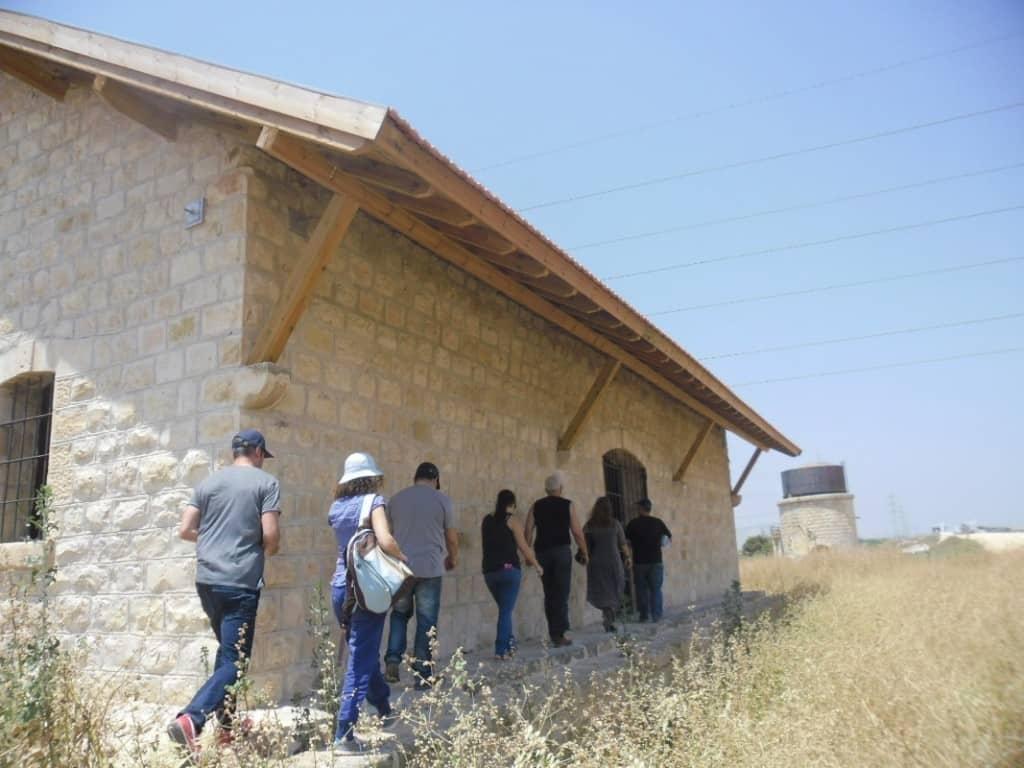 תחנת בית שאן המשופצת (צילום דני בר)