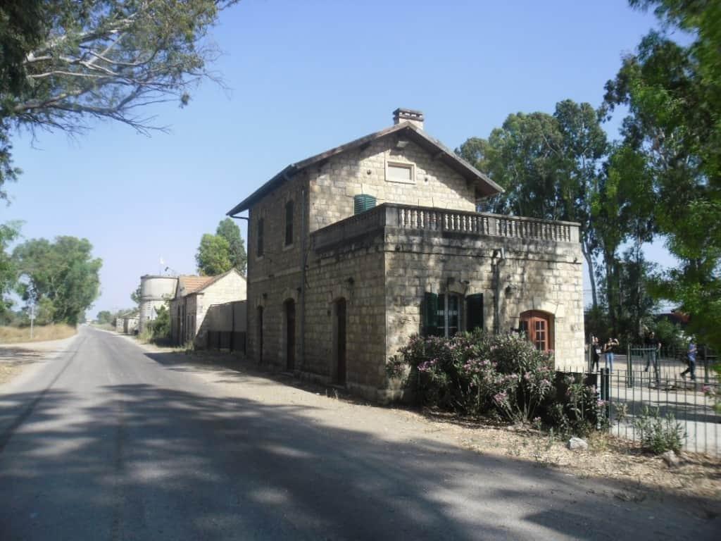 תחנת הרכבת ומוזיאון כפר יהושע (צילום דני בר)