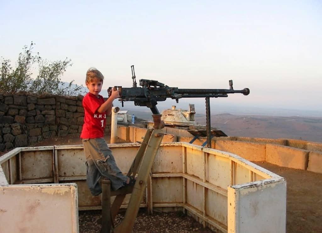 צילום תצפיות לעבר סוריה מהר בנטל - באדיבות תיירות מרום גול