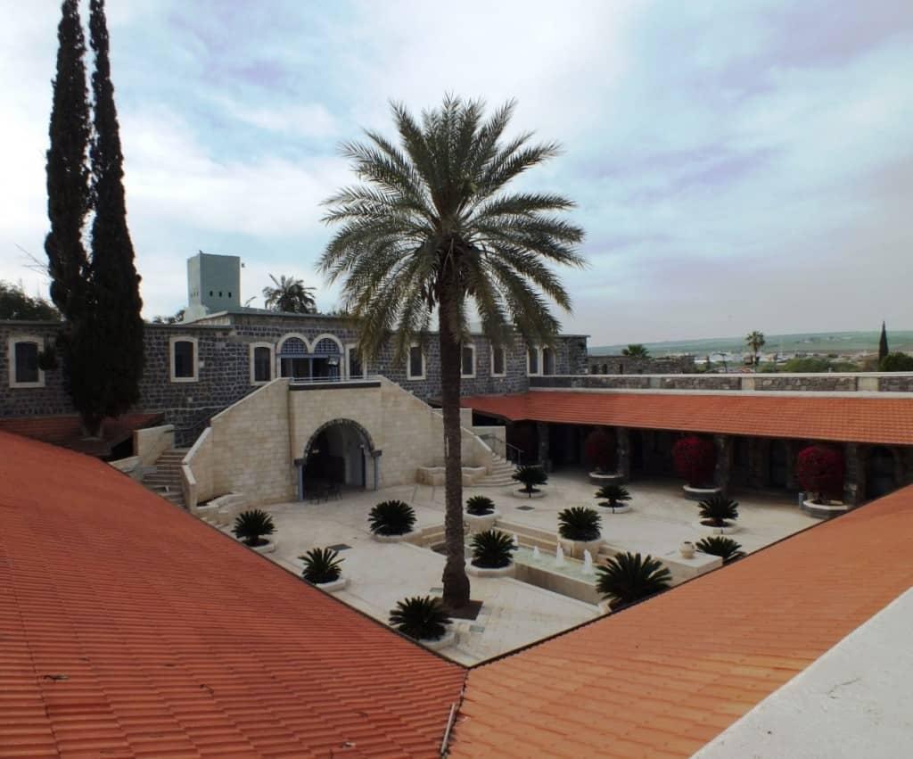 """מתחם הסראיה של בית-שאן (צילום יח""""צ)"""