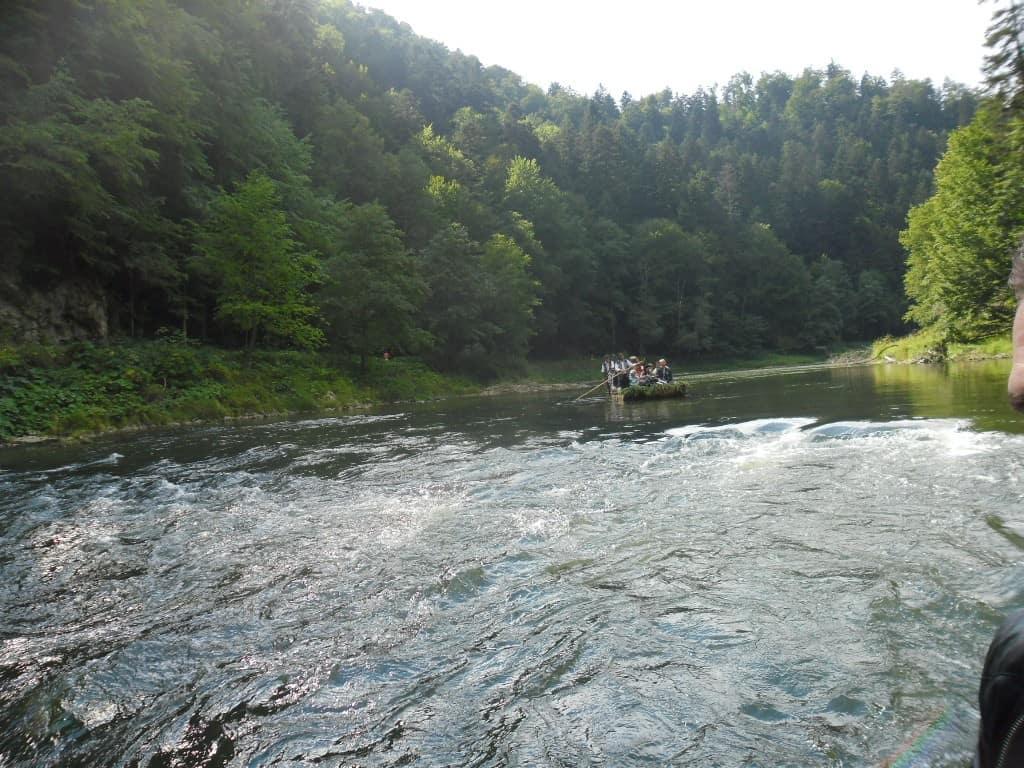 נהר הדונייץ בגן העדן הסלובקי (צילום דני בר)