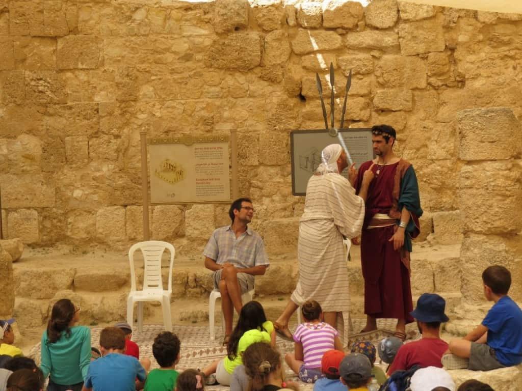 חיים שכאלה להורדוס המלך בהרודיון (צילום רשות הטבע והגנים)