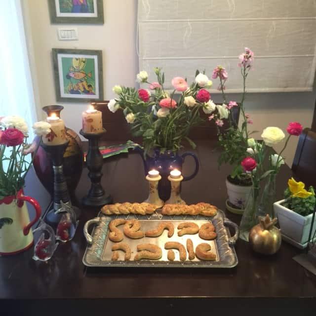 שולחן השבת (צילום שרי וינטר)