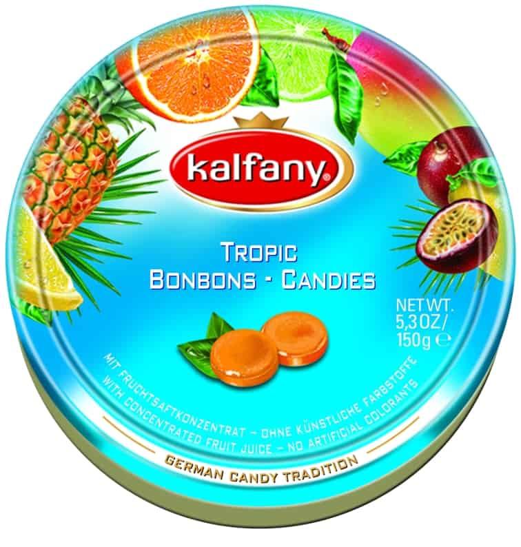 """סוכריות קלפני בטעם פירות טרופיים (צילום יח""""צ חו""""ל)"""