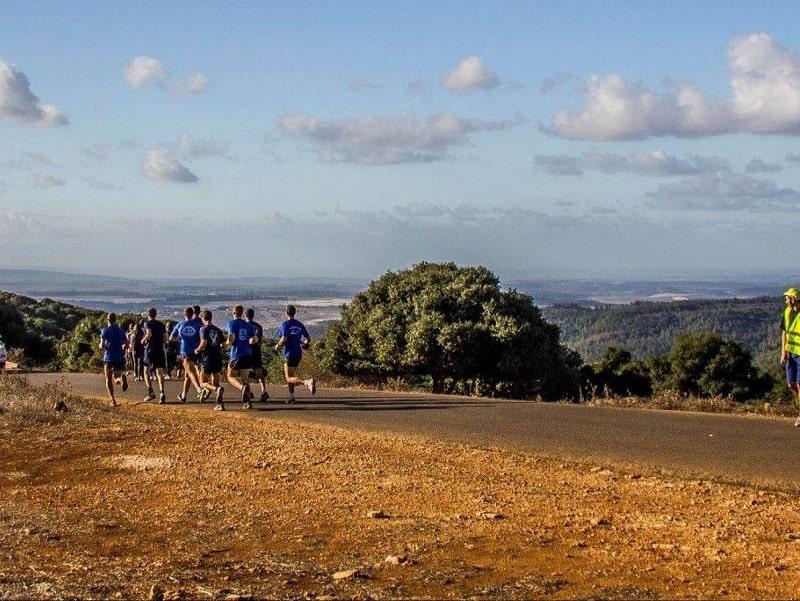 מסלול ריצה במוחרקה (צילום עמותת שביל הבנים הדרוזים)