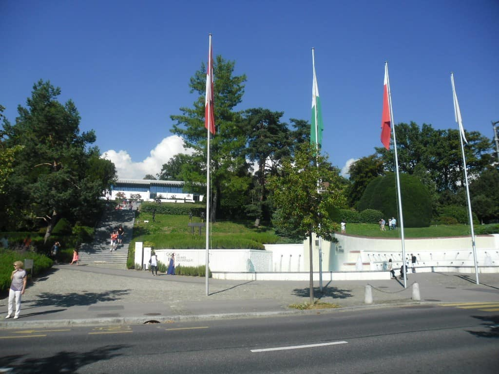 מוזיאון הועד האולימפי (המושחת) בלוזאן (צילום דני בר)