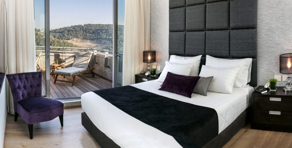 חדר סוויטה מלון יהודה ירושלים (צילום יחצ מלון יהודה)