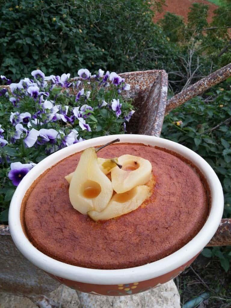 עוגת שמן זית ומוסקט (צילום אושר אידלמן)