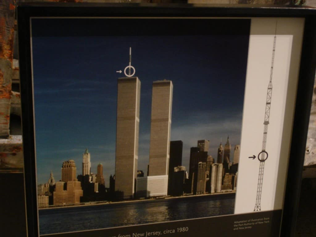 קו הרקיע של ניו יורק עד 2001 (צילום אראלה פלד)