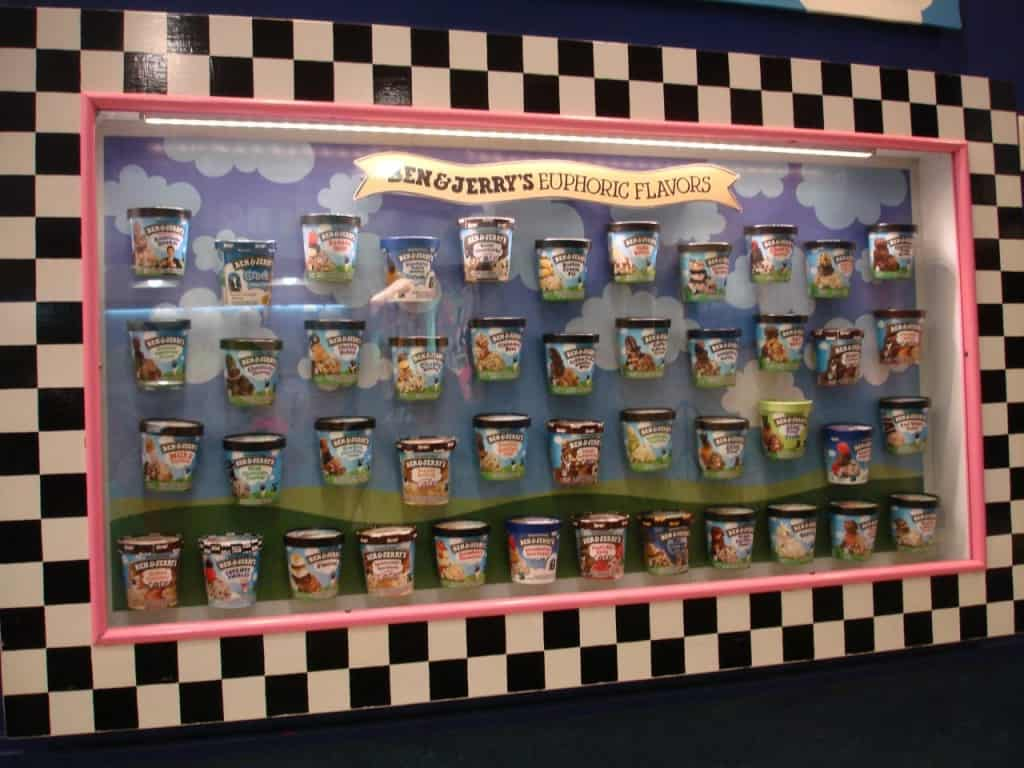 בן אנד ג'רי ben & Jerry's