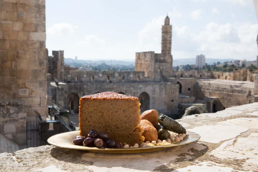 אוכלים בירושלים. מגדל דוד  (צלום עודד אנטמן)