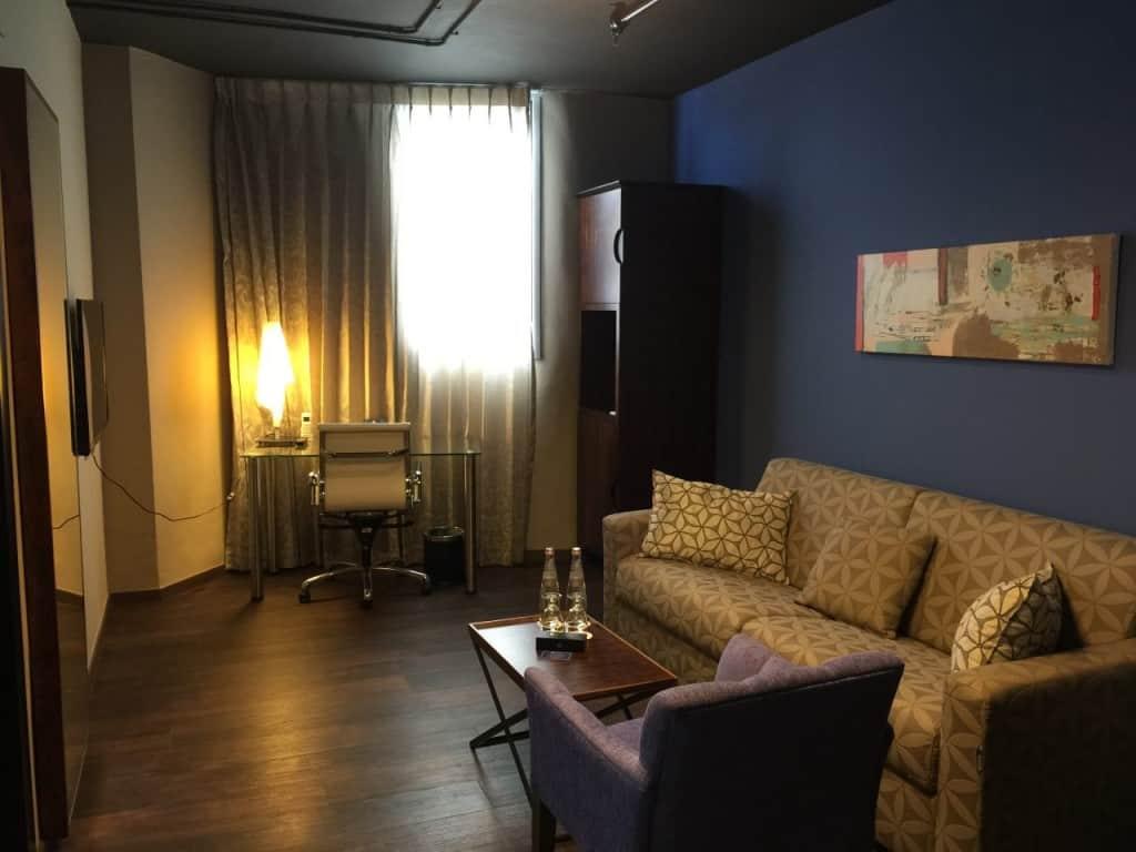 סוויטה במלון (צילום דניאלה שטרן)