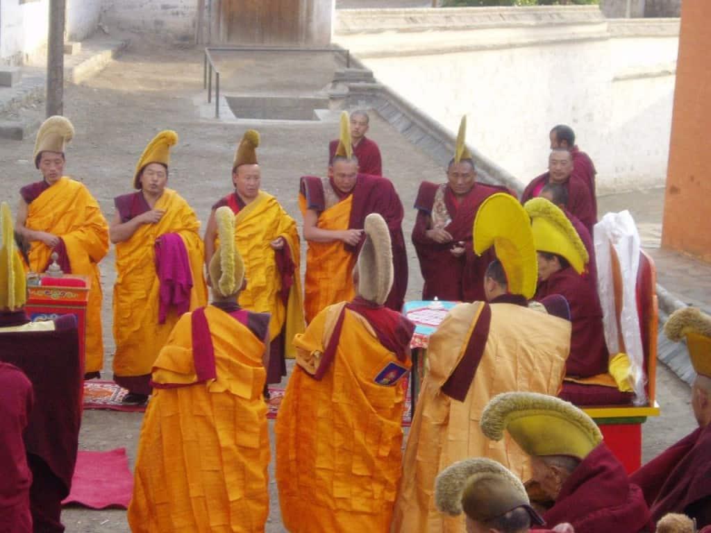 פסטיבל האביב במנזר לברן שברמה הטיבטית (צילום ליאור עלמה וקסלר)