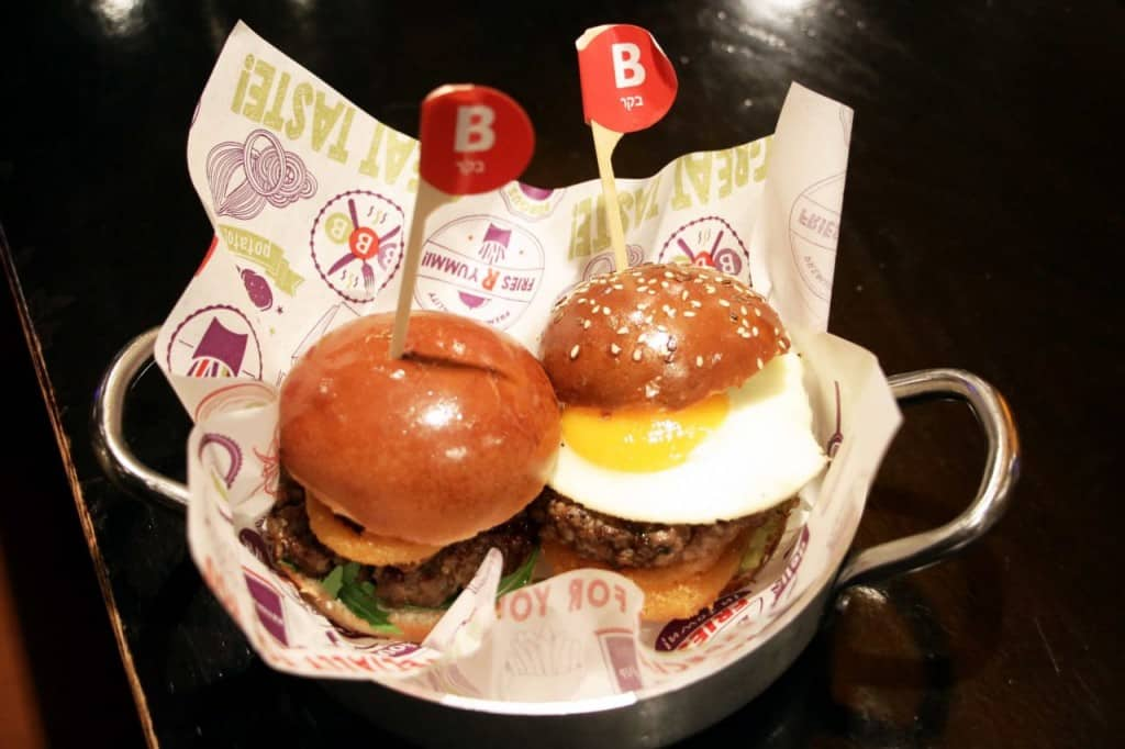 BBB משיקה קולקציית המבורגרים חדשים (צילום: אסף לוי)