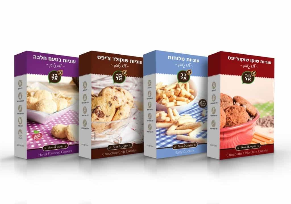 בר-אל סדרת עוגיות ללא גלוטן (צילום: סטודיו SAGA)