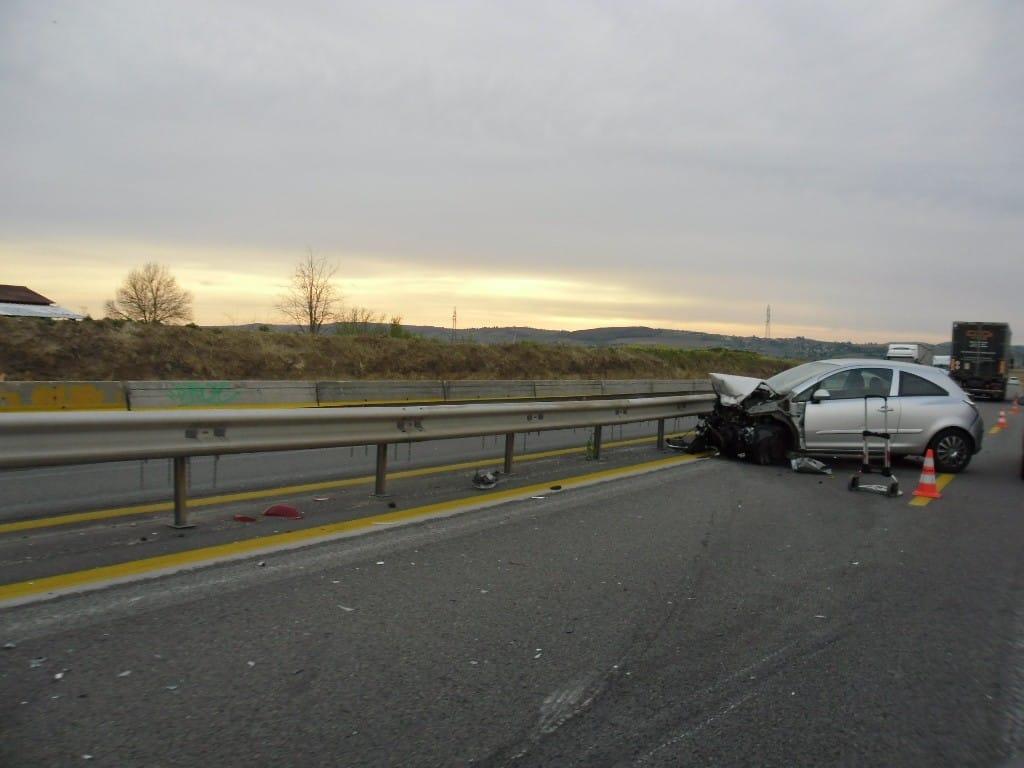 תאונת דרכים (צילום דני בר)