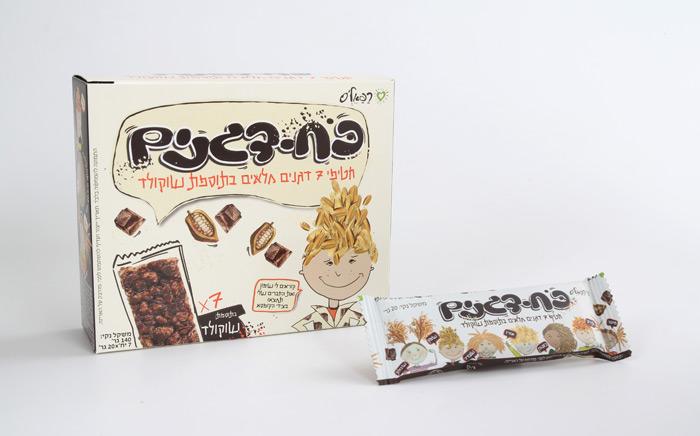 כוח דגנים בטעם שוקולד רפאלס