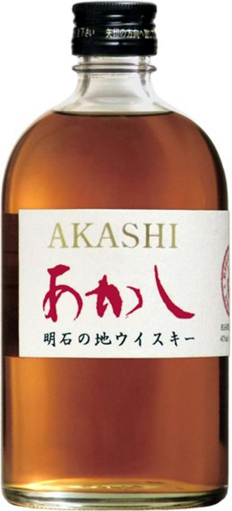 """ויסקי יפני אקאשי אדום (צילום יח""""צ)"""