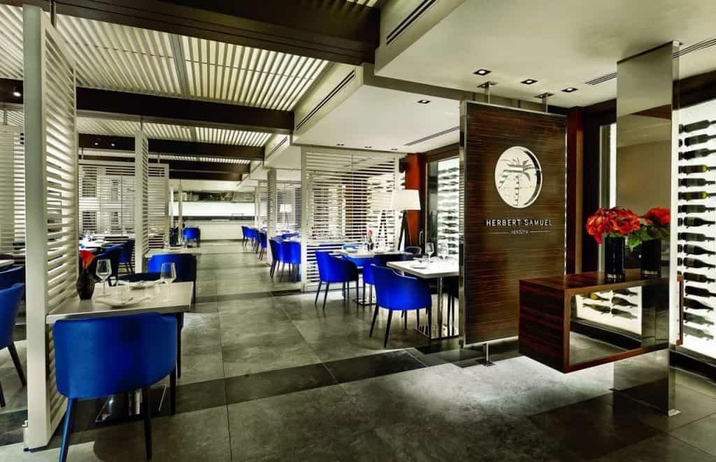 מסעדת הרברט סמואל במלון ריץ-קרלטון הרצליה