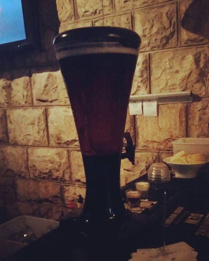 קנקן 1.5 ליטר בירה- בארקי חיפה (צילום אור ודניאל)