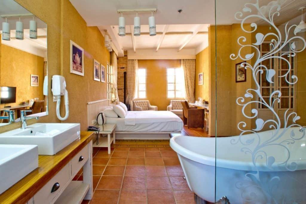 חדר הזודיאק במלון טמפלרס (צילום דניאל ואור)