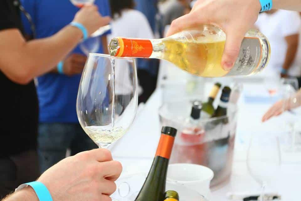 פסטיבל יין לבן (צילום אילן לוי)