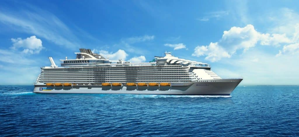 """Harmony of the Seas SM (צילום יח""""צ)"""