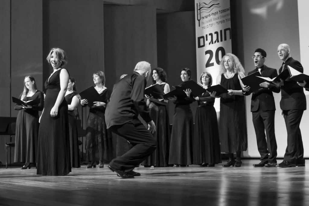 האנסמבל הקולי הישראלי (צילום דורון עובד)