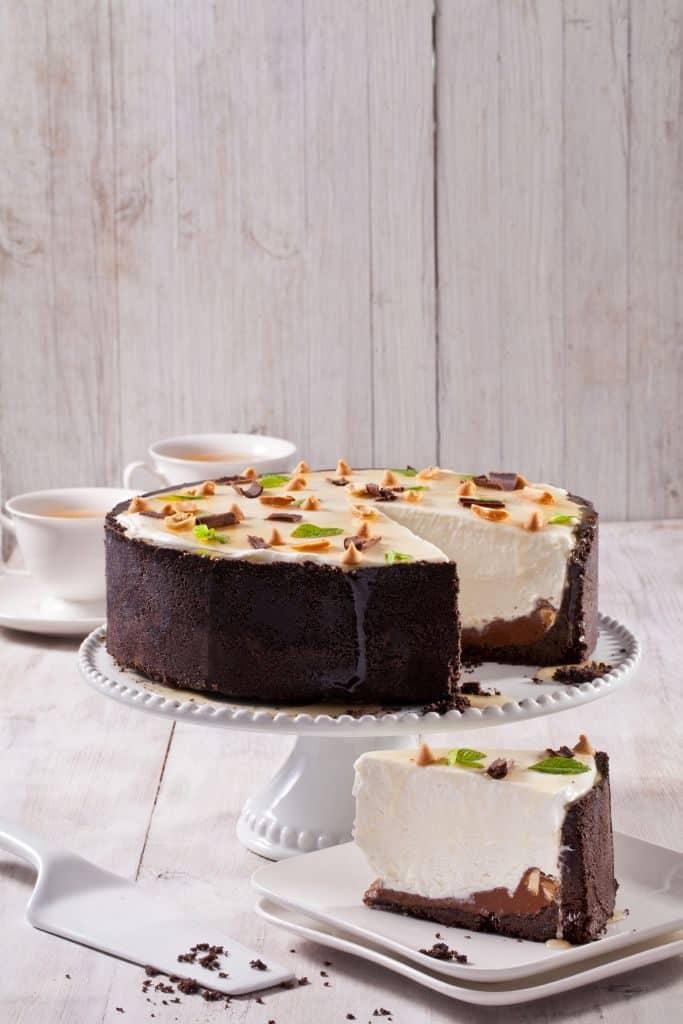 עוגת גבינה עם ריזס (צילום בועז לביא)