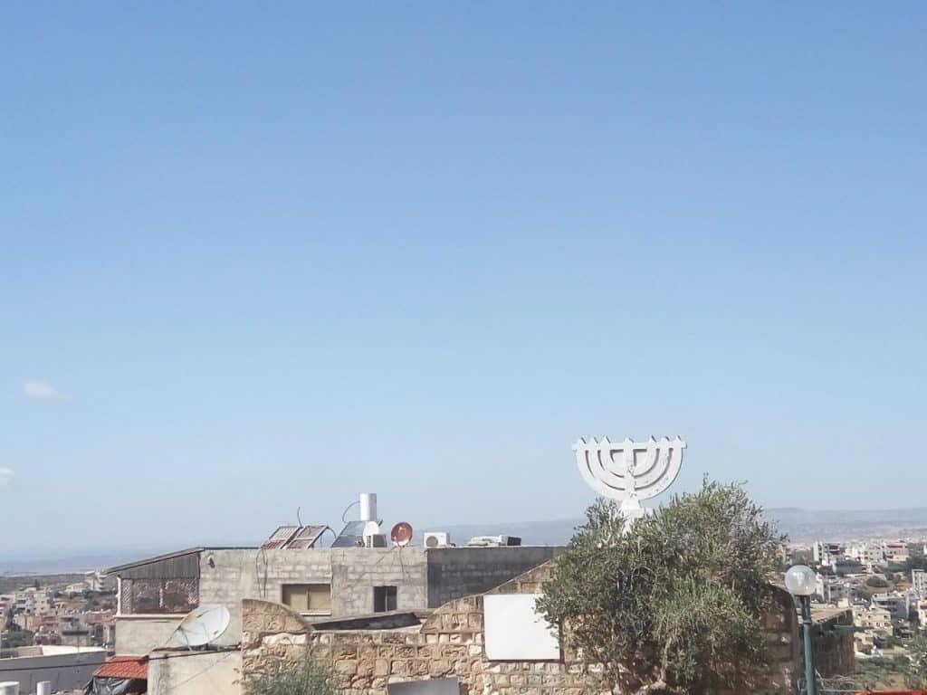 בית הכנסת בשפרעם (צילום דני בר)