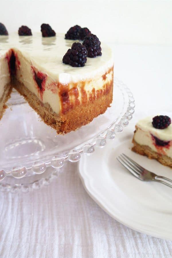 עוגת גבינה טבעונית (צילום: ניסים בן כהן)