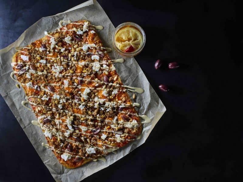 שקשוקית של דומינוס פיצה (צילום דן פרץ)