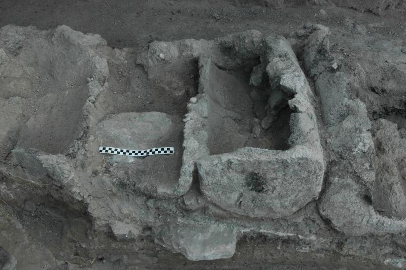 הכוורת מלפני 3000 שנה (צילום לליאוניד פדרול)