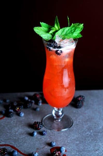 קוקטייל fresh-rum (צילום נעם נכון)